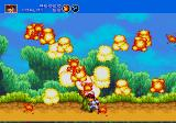 Gunstar Heroes Genesis that stupid plant is no match for our hero