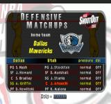 NBA ShootOut 2002 PlayStation Defensive Matchups