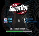 NBA ShootOut 2002 PlayStation Match introduction / Gathering information...