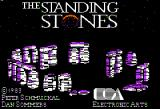The Standing Stones Apple II Title screen.