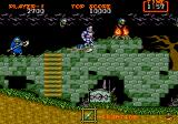 Ghouls 'N Ghosts Genesis watch those skull breathers, a real menace to society