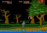 Ghouls 'N Ghosts Genesis evil flying things, better to duck out the way here