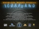 American McGee presents SCRAPLAND Windows Intro screen