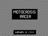 Motocross Racer ColecoVision Title screen