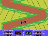 Motocross Racer ColecoVision Racing uphill...