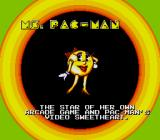 Pac-Man 2: The New Adventures Genesis Yup, she has a cameo here