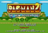 Pac-Man 2: The New Adventures Genesis Title Screen