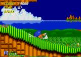 Sonic the Hedgehog 2 Genesis Sonic revs up
