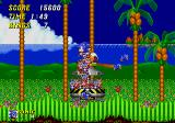 Sonic the Hedgehog 2 Genesis Beat the boss and set the friends free