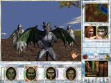 Might and Magic VII: For Blood and Honor Windows Stone gargoyles and shade attack me in an open area