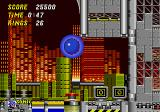 Sonic the Hedgehog 2 Genesis Get those bonus items on the right for extra rings
