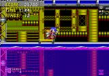 Sonic the Hedgehog 2 Genesis On the edge