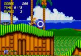 Sonic the Hedgehog 2 Genesis Sonic's added protection