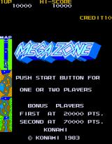 Mega Zone Arcade Second screen