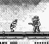 Teenage Mutant Ninja Turtles:  Fall of the Foot Clan Game Boy Rocksteady