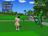 Pebble Beach no Hatō Plus PlayStation Player-3