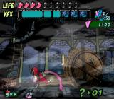 Viewtiful Joe GameCube Yikes, I'm being chased by a giant barrel