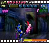 Viewtiful Joe GameCube Captain Blue fights you to test your skills occasionally