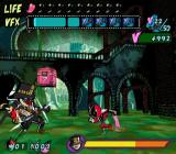 Viewtiful Joe GameCube A large enemy blocks your path
