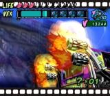 Viewtiful Joe GameCube Use your visual effects power to jump a bus over a canyon