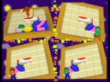 Mario Party 2 Nintendo 64 Mini game: try to reveal the picture beneath the tiles!
