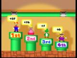 Mario Party 2 Nintendo 64 The results of a battle mini game