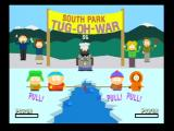 South Park: Chef's Luv Shack Nintendo 64 It's the tug-oh-war!