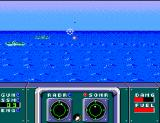 Poseidon Wars 3-D SEGA Master System Battling it out at sea