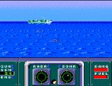 Poseidon Wars 3-D SEGA Master System Your first enemy target, the CL-38