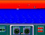 Poseidon Wars 3-D SEGA Master System Some helicopters having a go at you