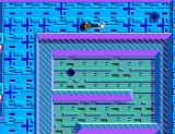 Maze Hunter 3-D SEGA Master System Killing an enemy with the iron bar