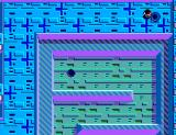 Maze Hunter 3-D SEGA Master System Going through a warp hole