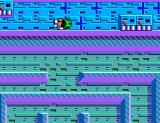 Maze Hunter 3-D SEGA Master System Jumping over an enemy