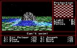 Might and Magic II: Gates to Another World DOS You can't cross rivers on foot - but there are always ferries, plus the handy Walk On Water spell
