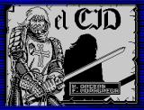 El Cid ZX Spectrum Title Screen