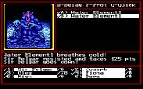 Might and Magic II: Gates to Another World DOS You can venture into the Elemental Planes earlier in the game, but then people like this hipster water elemental might kill you in an uncool, albeit groovy way