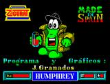 Humphrey ZX Spectrum Title Screen
