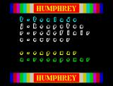 Humphrey ZX Spectrum Main Menu