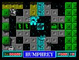 Humphrey ZX Spectrum Trying to jump...