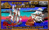 Gold of the Americas: The Conquest of the New World Apple IIgs Loading screen.