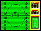 Emilio Butragueño ¡Fútbol! ZX Spectrum Referee throws the coin