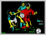 Emilio Butragueño ¡Fútbol! ZX Spectrum Title Screen
