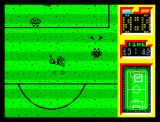 Emilio Butragueño ¡Fútbol! ZX Spectrum The player receives the ball perfectly...