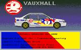 Touring Car Racer Amiga Select Car - VAUXHALL