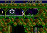 Sonic the Hedgehog: Spinball Genesis Taking a quick break from the action