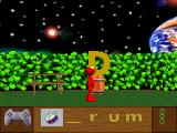 Elmo's Letter Adventure PlayStation In this little game, you must found the correct letter to complete the word.