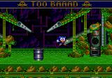 Sonic the Hedgehog: Spinball Genesis Burnt by the toxic river