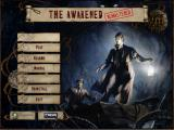 Sherlock Holmes: The Awakened - Remastered Edition Windows The Installation menu<br>The same screen is use in-game. Once installed the word INSTALL is replaced by PLAY and an UNINSTALL menu option appears