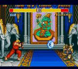 Street Fighter II: Champion Edition Genesis go you little blue fireball