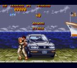 Street Fighter II': Special Champion Edition Genesis Bonus stage 1: Trash the car